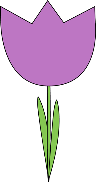 Tulip clipart purple tulip #5
