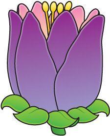 Tulip clipart spring school #6