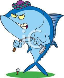 Tuna clipart angry #1