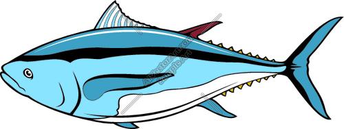 Tuna clipart animated #12