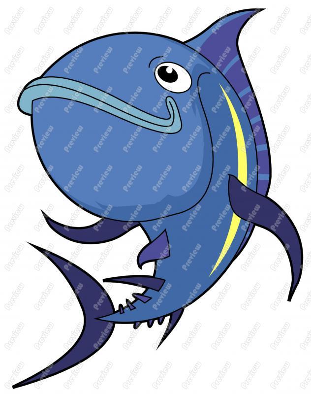 Tuna clipart cartoon #1