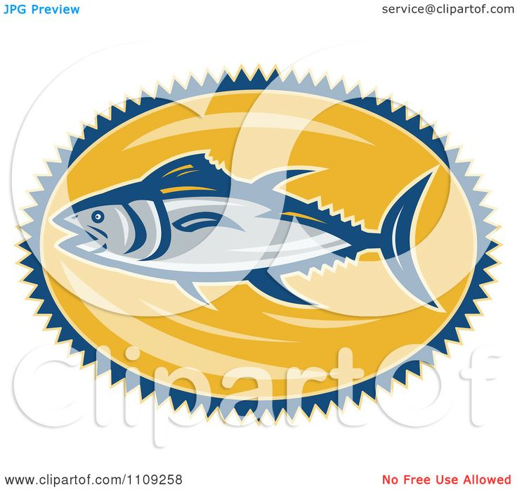 Tuna clipart fish dinner #6