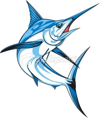 Tuna clipart ikan #4