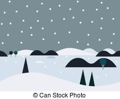 Tundra clipart Snowy Seamless Nature Graphics Vector