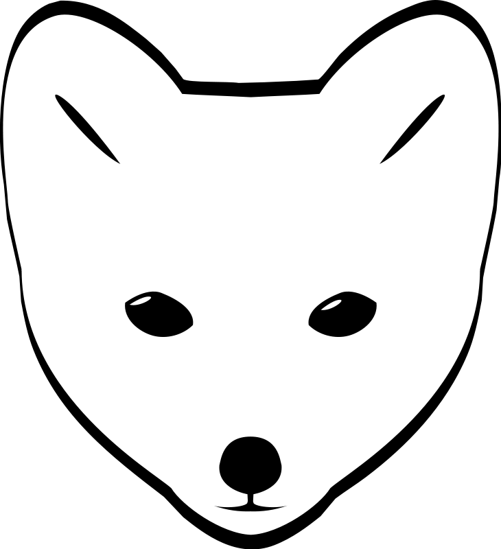 Tundra clipart fox #11