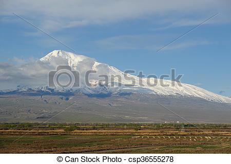 Tundra clipart mountain border #1