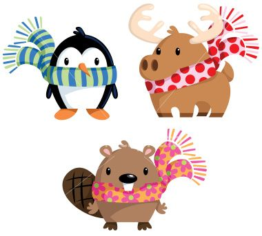 Winter clipart winter animal Images on in art more