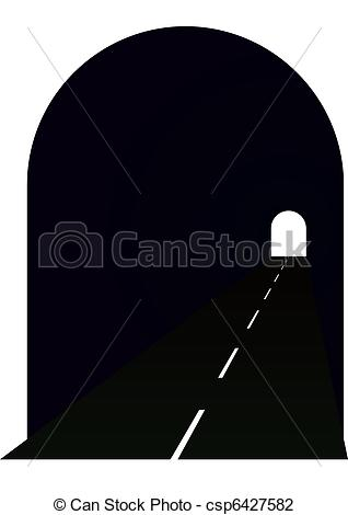 Tunel clipart car tunnel Tunnel the Illustrations Entrance road
