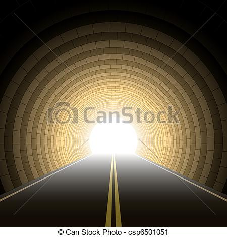 Tunel clipart car tunnel Clip Car of Art illustration