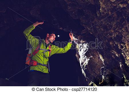 Tunnel clipart underpass Man Photo exploring csp27714120 underground