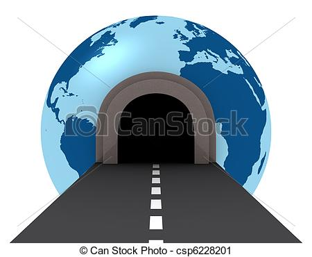 Tunel clipart drawing World the Clipart the Illustration