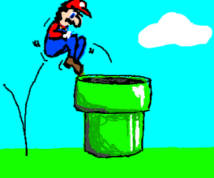 Tunel clipart mario Into tunnel Boost sewer a