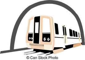 Tunel clipart train tunnel Clip royalty Train tunnel