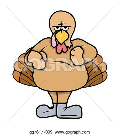 Turkey clipart angry #8