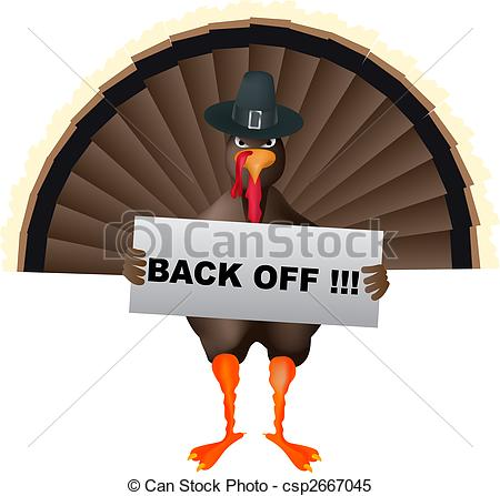 Turkey clipart angry #6