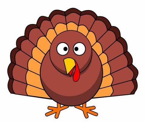 Turkey clipart colored #5