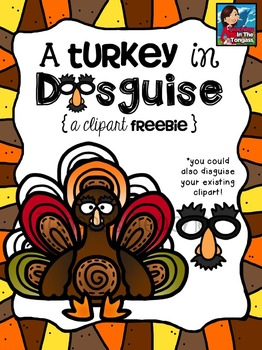 Turkey clipart disguised #7