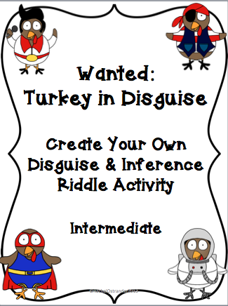 Turkey clipart disguised #8