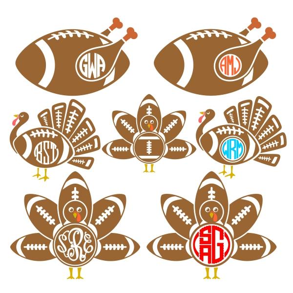 Turkey clipart football #12