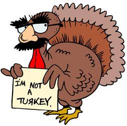 Turkey clipart fun #5