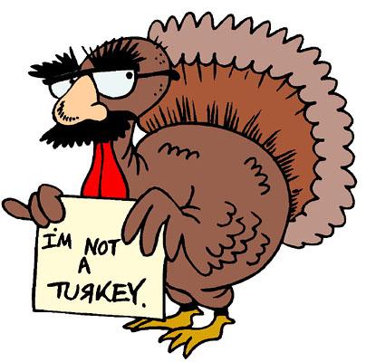 Turkey clipart funny #5
