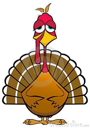 Turkey clipart funny #4