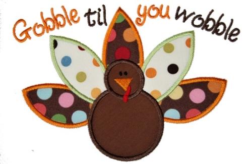 Turkey clipart gobble #13