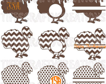 Turkey clipart polka dot #11