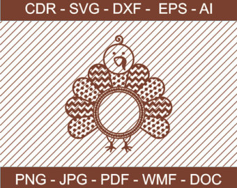 Turkey clipart polka dot #15