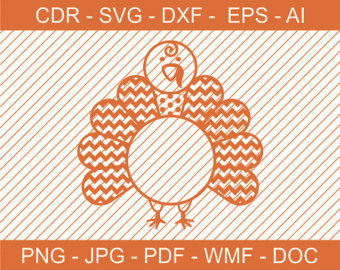 Turkey clipart polka dot #6