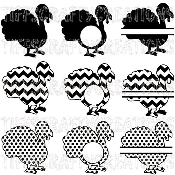 Turkey clipart polka dot #3