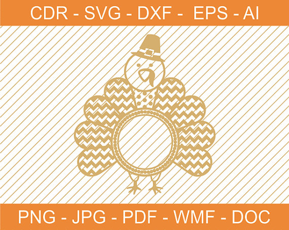 Turkey clipart polka dot #9
