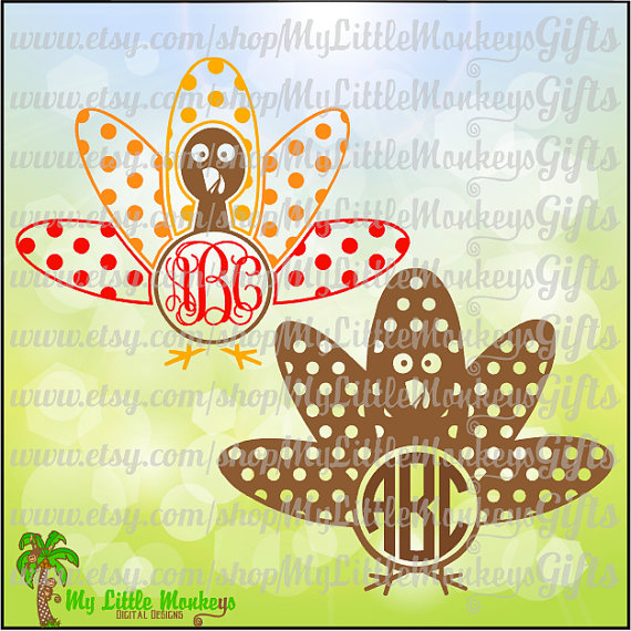 Turkey clipart polka dot #13