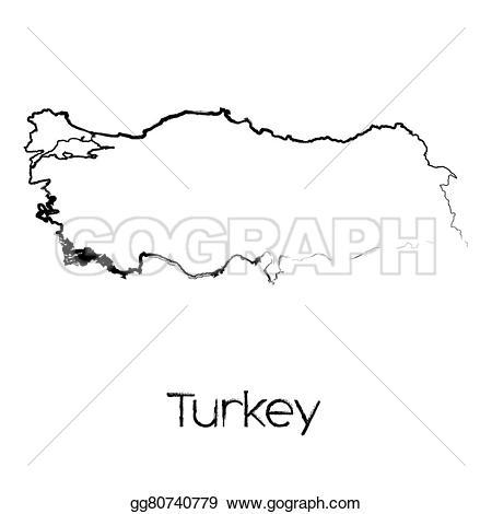 Turkey clipart shape #14