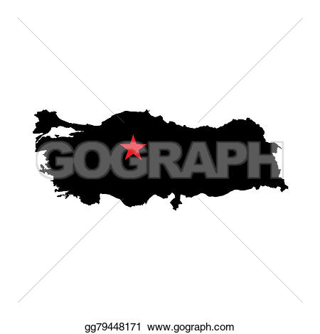 Turkey clipart shape #13