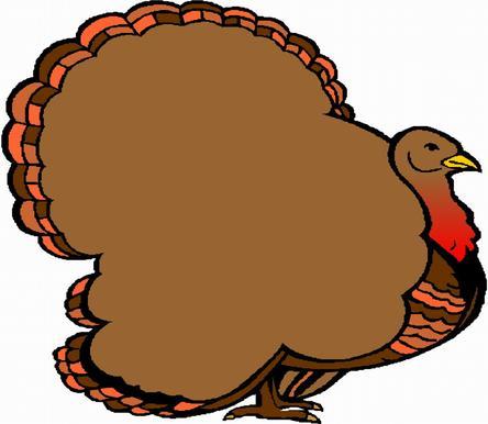 Turkey clipart shape #12