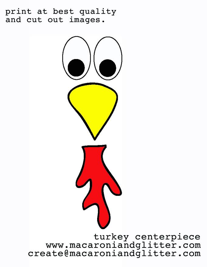 Beak clipart turkey 25 an create centerpiece 7