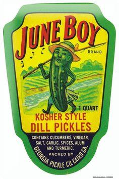 Turmeric clipart dill pickle 20x30 Tin Georgia Pickle