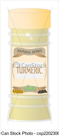 Turmeric clipart herbs and spice And Turmeric Art spice of