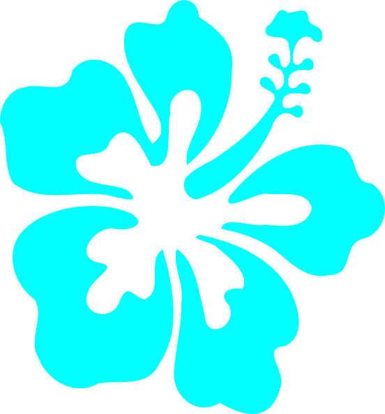 Turquoise clipart Clipart Turquoise Download Turquoise Hibiscus