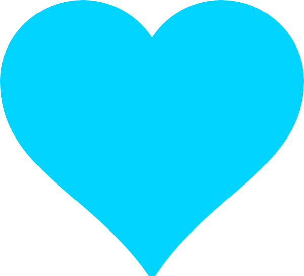 Turquoise clipart Clip Turquoise vector Heart Download