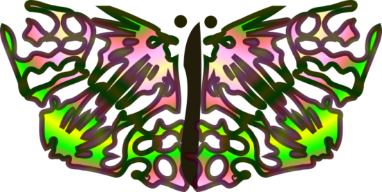 Turquoise clipart beautiful butterfly #14