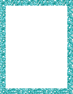 Turquoise clipart border #8