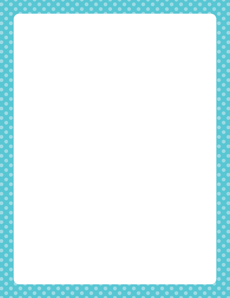 Turquoise clipart border #15