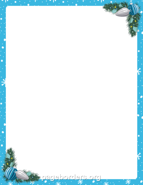 Turquoise clipart border #13