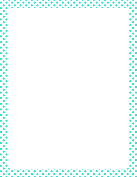 Turquoise clipart border #6