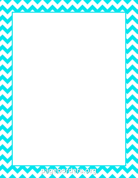Turquoise clipart border #12