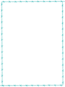 Turquoise clipart border #4