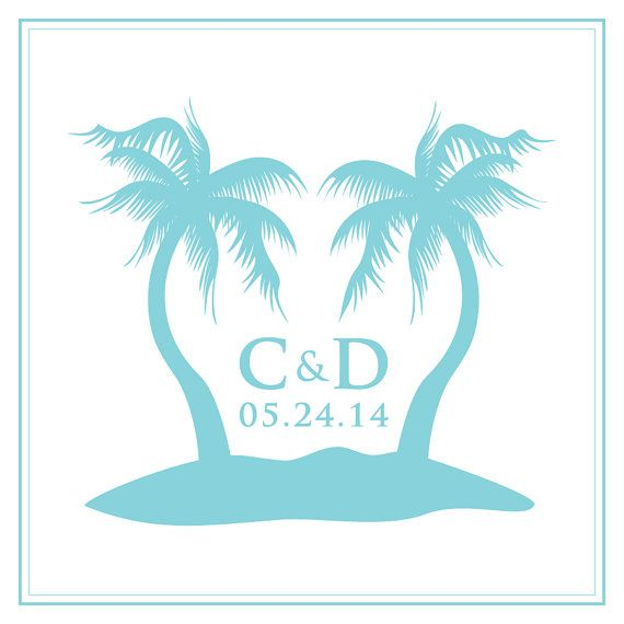 Turquoise clipart destination wedding #11