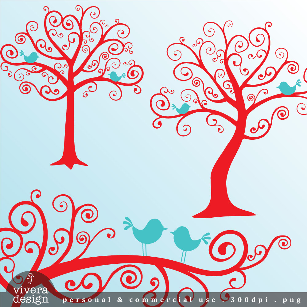 Turquoise clipart tree #13